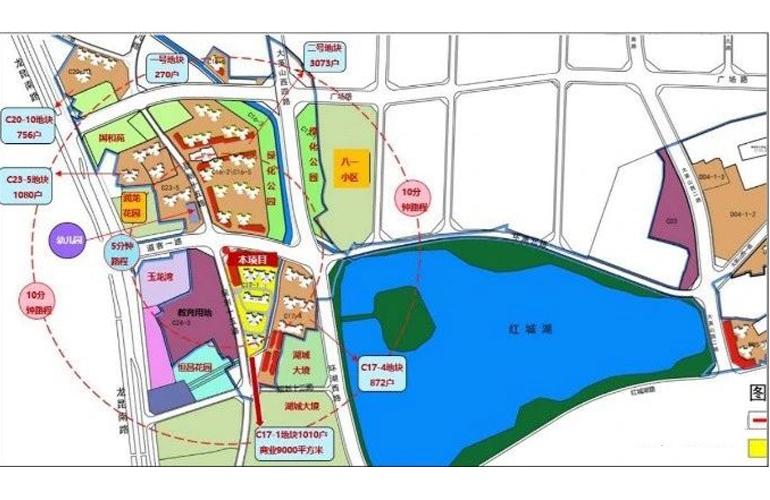 道客和悦城 平面图