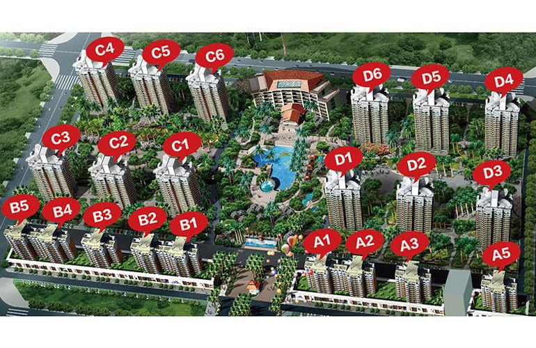 龙栖湾温泉1号 规划图