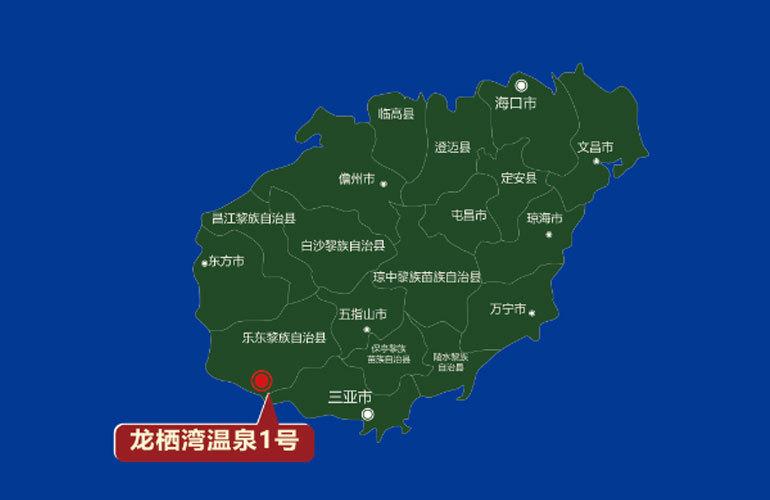 龙栖湾温泉1号 区位图