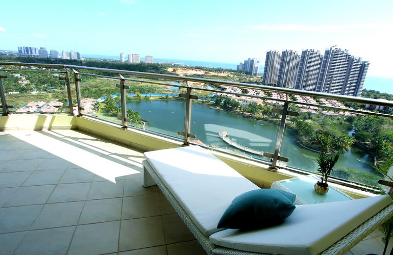 碧桂园东海岸 B4户型样板间阳台