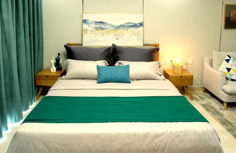 碧桂园东海岸 B2户型样板间卧室