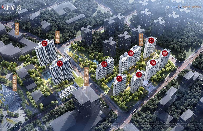 三亚金茂湾 规划图