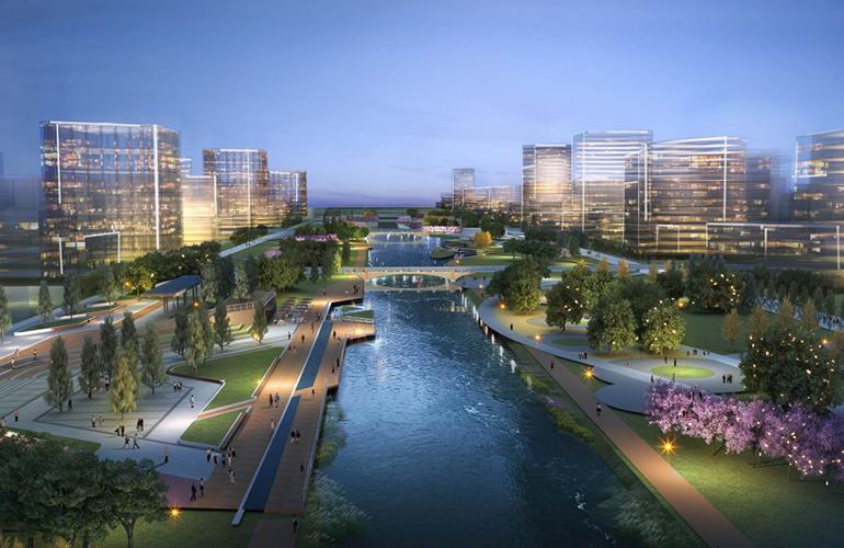 万科公园城市 周边-新河公园