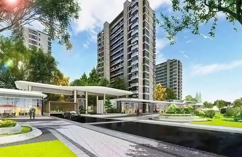 昆明古滇名城建筑面积88-91㎡两房加推均价9500元/㎡