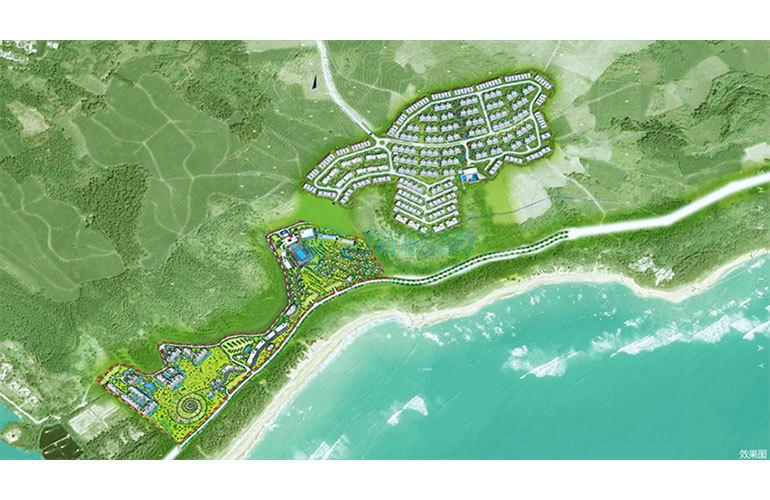 雅居乐山钦湾 规划图
