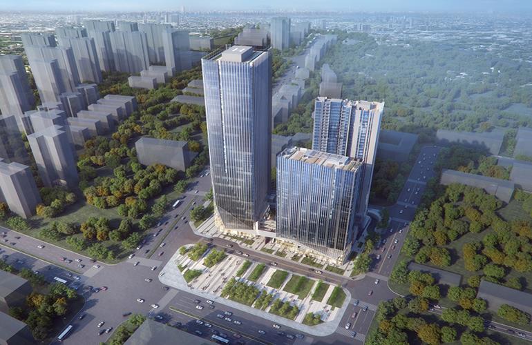 珠海富力新天地住宅写字楼酒店待售,预估均价28000元/㎡