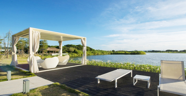 珠海九洲保利天和在售建筑面积115-137㎡湿地雅居,均价25000元/㎡