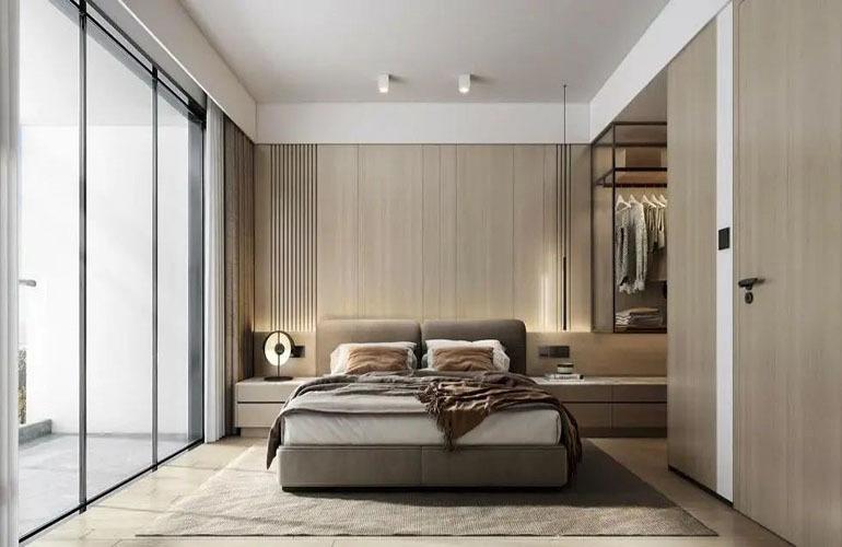鸿基湖畔新城 卧室