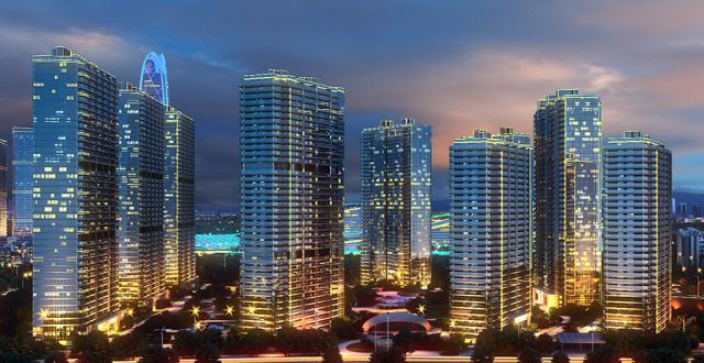 昆明山海湾8号在售大平层品质住宅,均价23000元/㎡