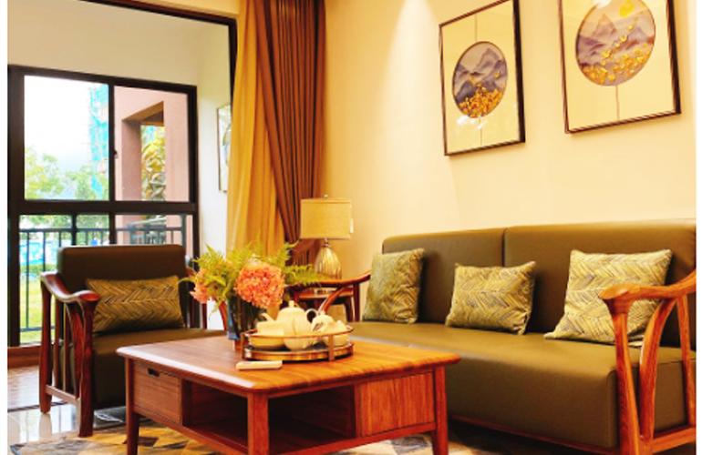 芭提雅火山岩温泉小镇 客厅