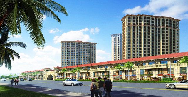 儋州中商海花东岸温暖海景房在售,均价16000元/㎡