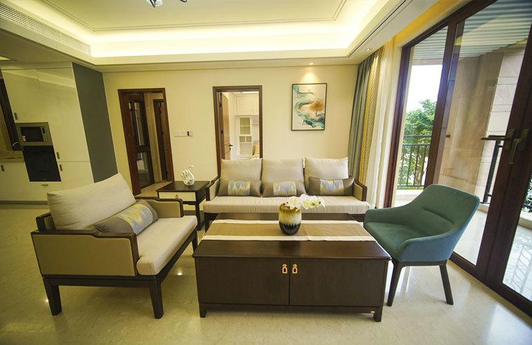 山海湾五期三区客厅