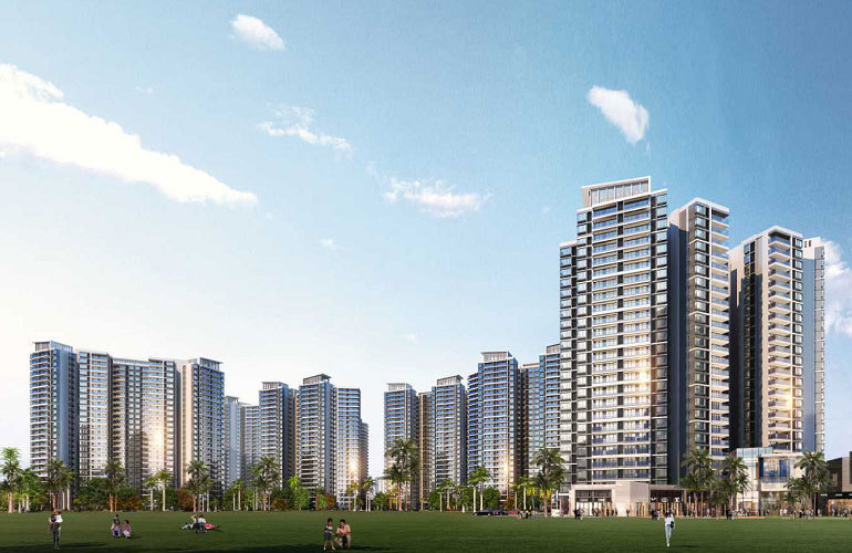 三亚保利碧桂园悦府高层住宅在售,均价28000元/㎡