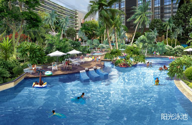 中国城星悦居 阳光泳池