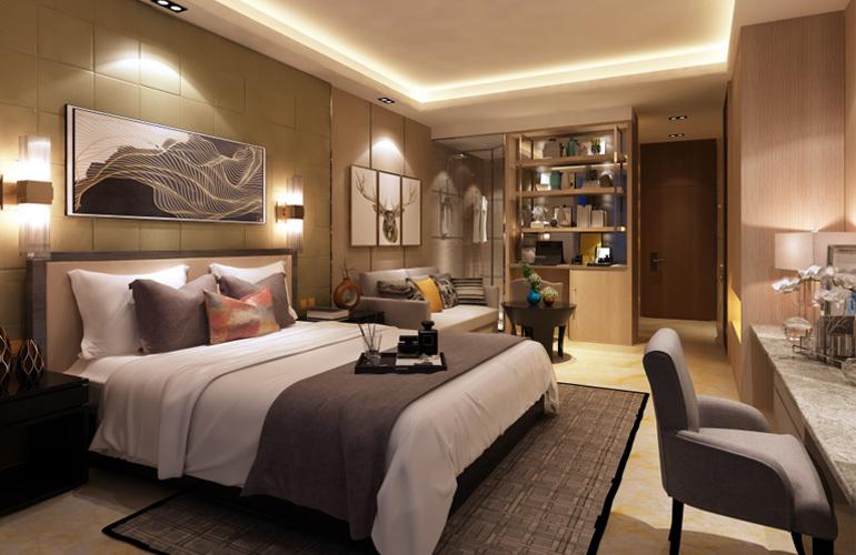 中国城星悦居卧室
