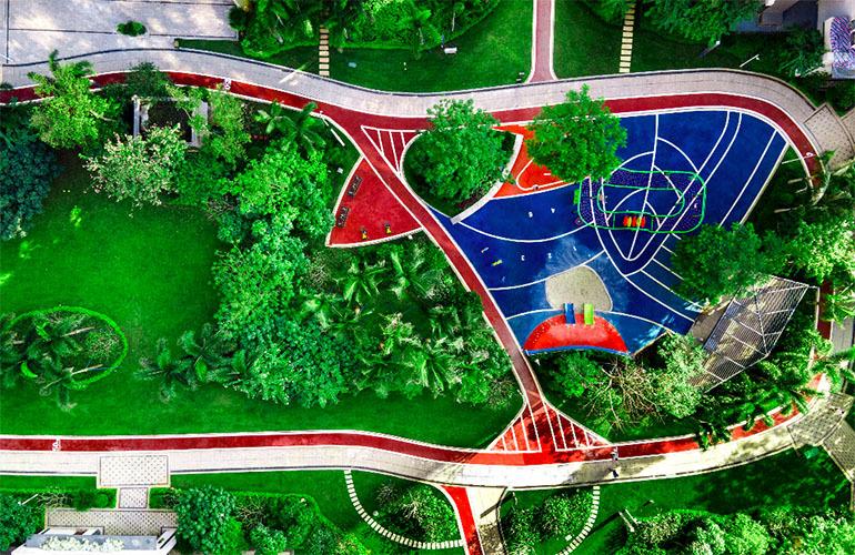 金地海南自在城 实景图