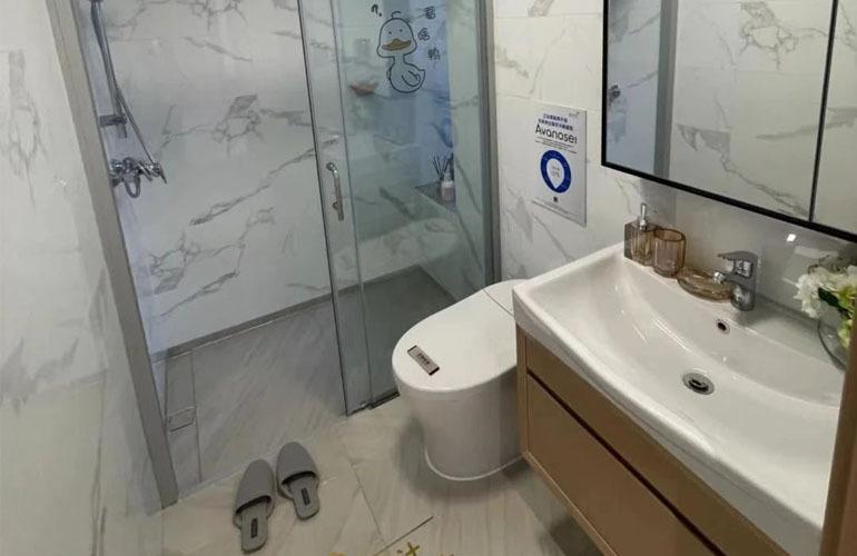 碧桂园海棠墅 洋房样板间—卫生间