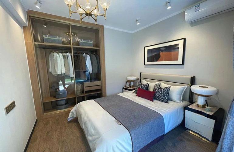 碧桂园海棠墅 洋房样板间—卧室