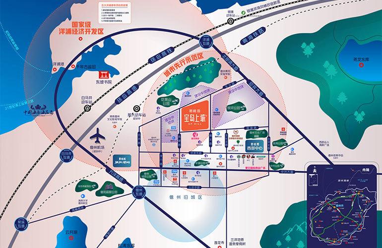 碧桂园宝岛上城区位图