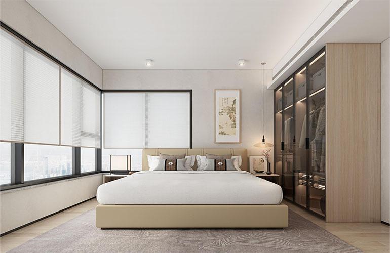 九所泊云 两房样板间—卧室