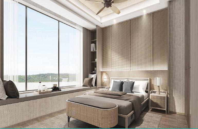 海蓝凤凰海岸 卧室
