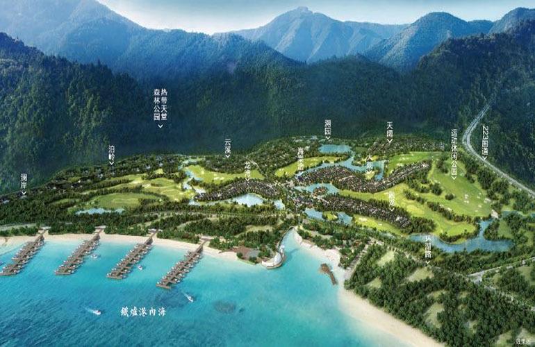 融创海棠湾 规划图