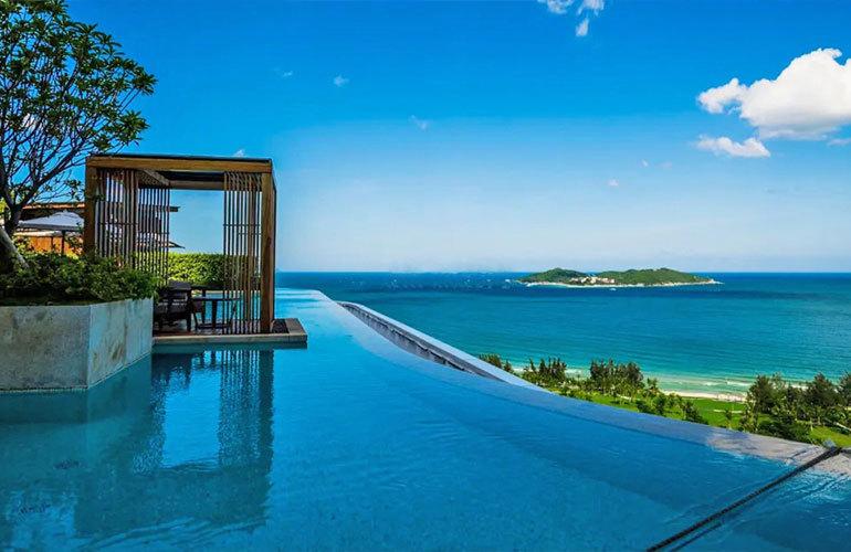 国家海岸保利海棠湾二期观景洋房在售,均价40000元/㎡