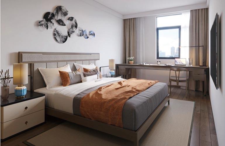 椰林小筑 D户型样板间-卧室