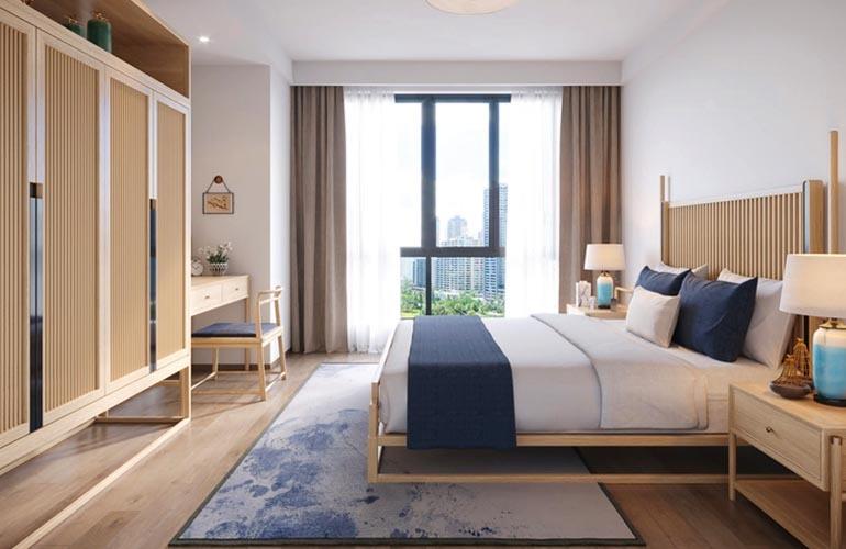 椰林小筑 B户型样板间-卧室