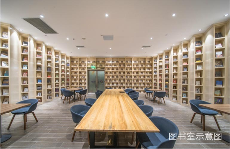 椰林小筑图书馆示意图