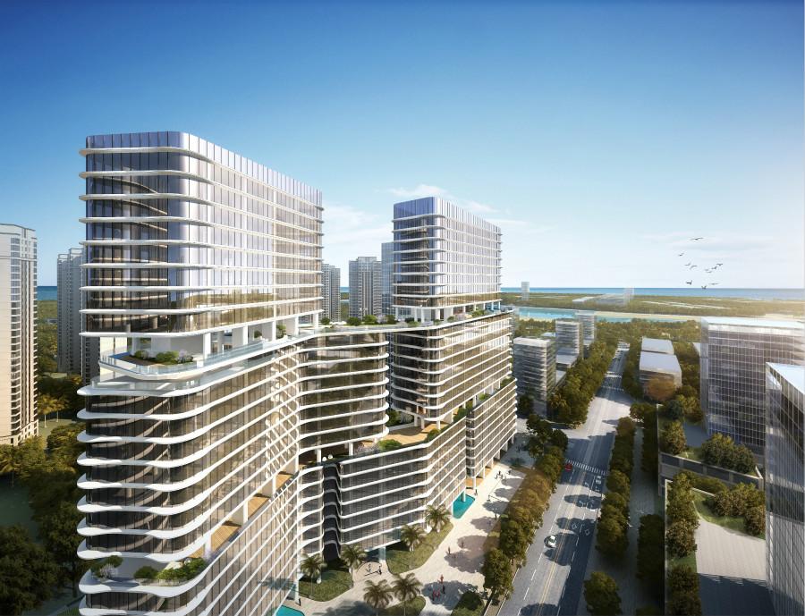 三亚太平金融产业港3#写字楼在售,27000元/㎡