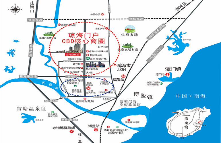 金海鼎熙园区位图