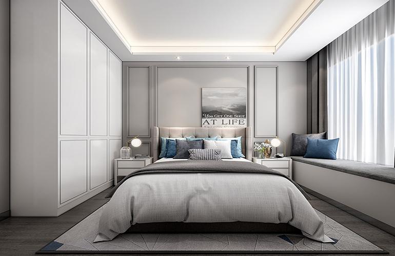 金海鼎熙园 卧室