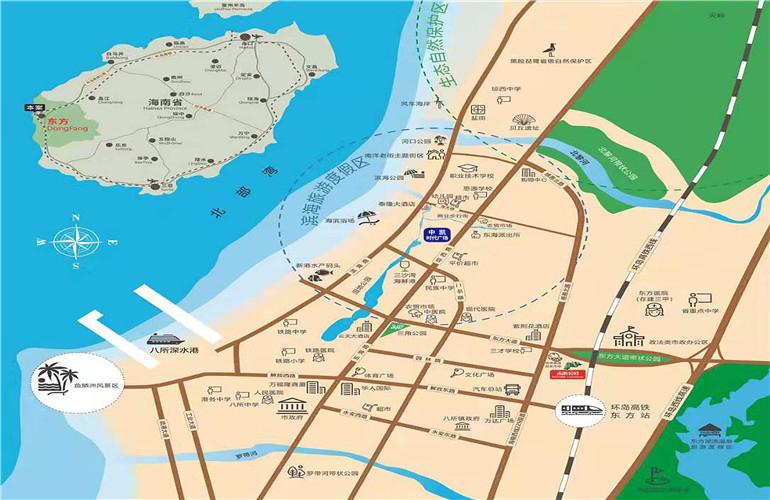 中凯时代广场区位图
