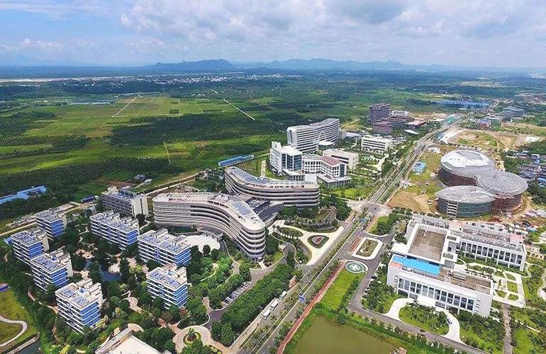 凤凰山温泉谷乐城国际医疗旅游先行区实景图