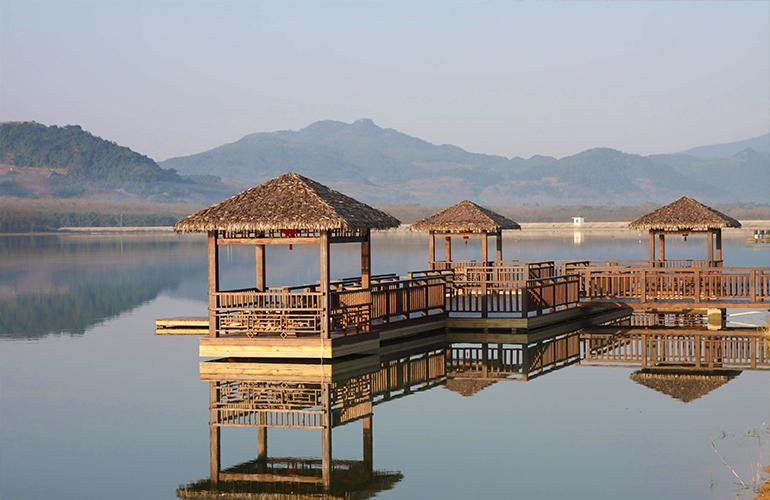 鹭湖国际养生度假区实景图
