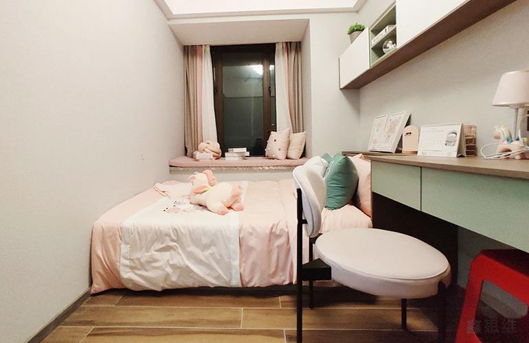 美林苑三期 E户型样板间-卧室