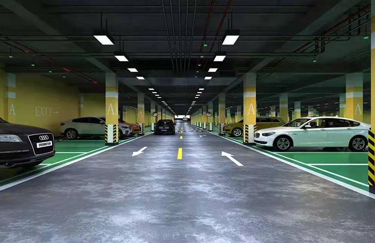 文澜江商业广场 停车场