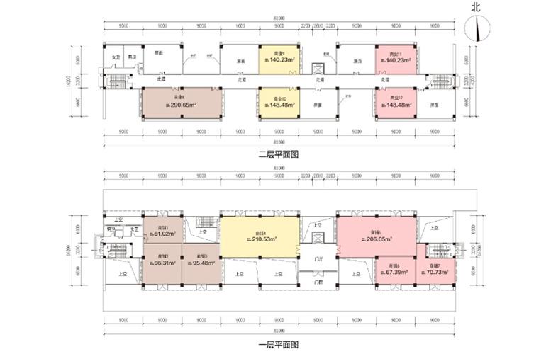 艺境 商业 E1户型 建筑面积2800.42㎡