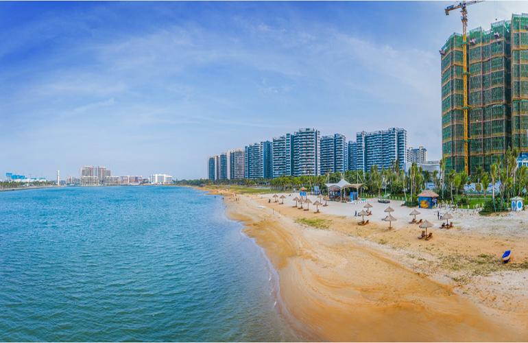 艺境 碧海银滩实景图
