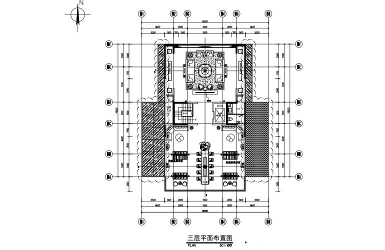 艺境 B户型 三层平面布置图