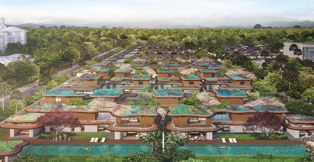 三亚海棠华著一线海景别墅在售,均价 100000 元/㎡