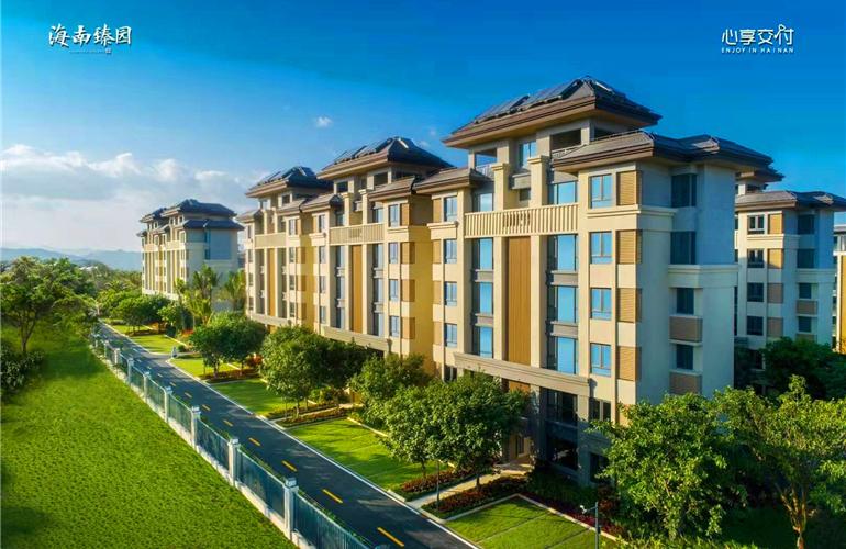 万宁融创海南臻园项目低密度纯板式美宅在售,均价20000元/㎡