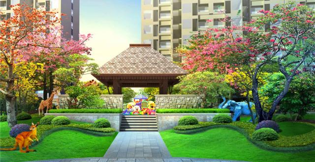 三亚天悦湖畔项目在售低密度公园美宅,均价28000元/㎡