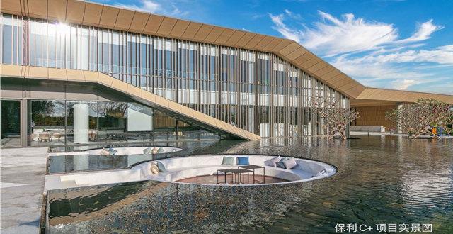 三亚保利C+国际博览中心建筑面积57㎡-144㎡C+公域在售,均价34000元/㎡