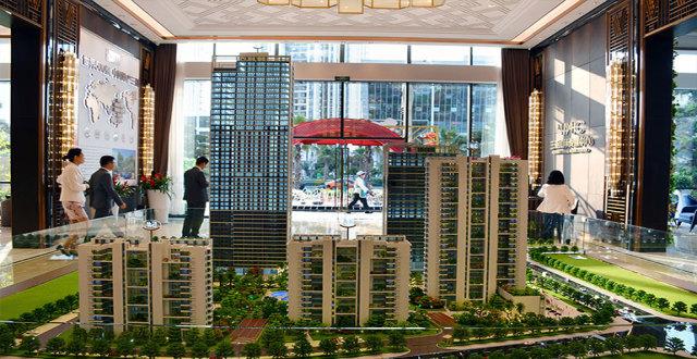三亚碧桂园三亚国际传媒中心1#IMC云+在售,均价23000元/㎡