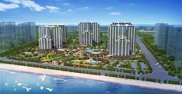 儋州中视金海湾在售滨海美宅,均价13000元/㎡