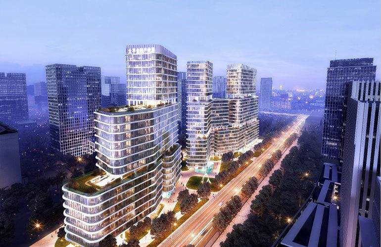 三亚太平金融产业港百变空间商务产品在售,均价23000元/㎡