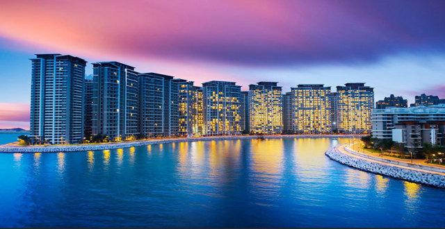 儋州恒大海花岛LOFT公寓、平层公寓和观景别墅均有在售,均价17000元/㎡