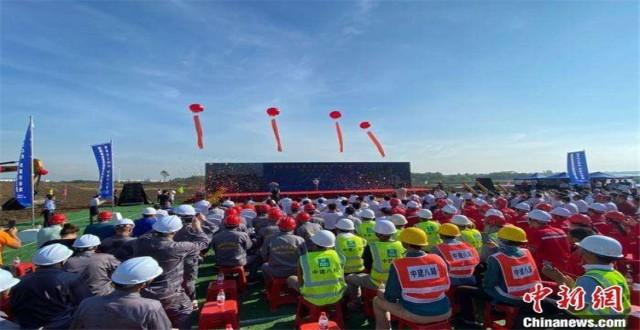 海南洋浦21个重点项目开工 自贸港政策成引资亮点